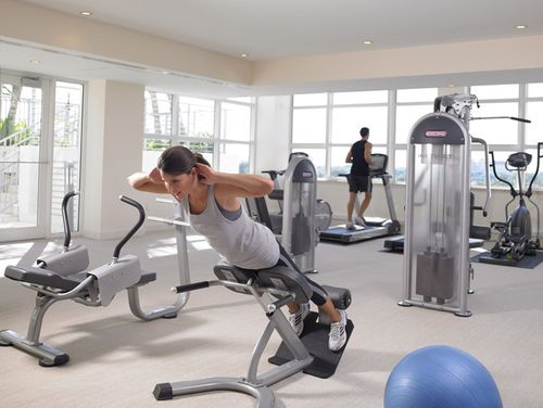 Grand Beach Hotel Surfside fitness center