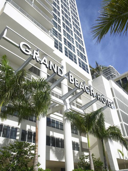 Grand Beach Hotel Miami Beach Facade