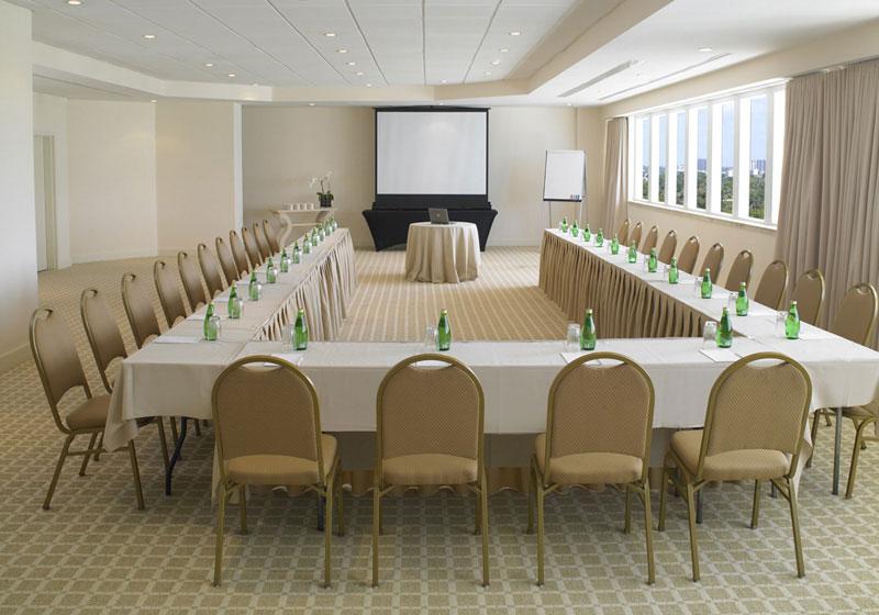 Grand Beach Hotel. Coral Room- U Shape Meeting