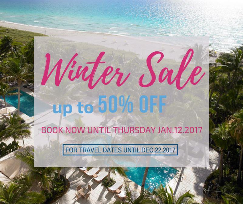 72-Hour Winter Sale. Grand Beach Hotel Miami. January 2017 edit