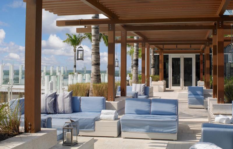 Grand Beach Hotel Surfside. Sky Deck Sitting Area