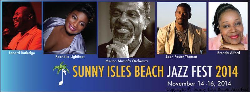 7TH ANNUAL SUNNY ISLES BEACH JAZZ FEST
