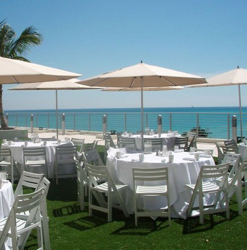 Grand Beach Hotel ocean-terrace 7th floor venue