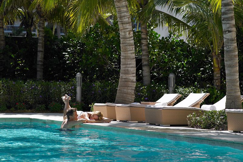 Grand Beach Hotel Oceanfront pool.