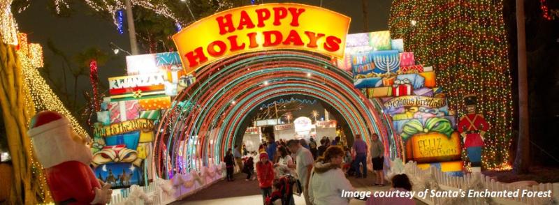Santas Enchanted Forest 2016- Theme Park - Copy
