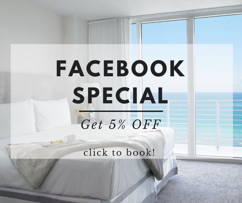 Grand Beach Hotel Miami. Facebook Special. 2017 design