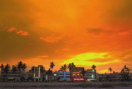 Ocean Drive, South Beach Florida