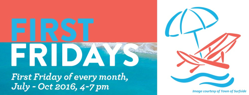 First Fridays Event. Surfside Florida