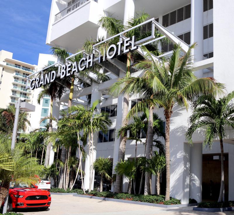 Grand Beach Hotel Miami. 2017 TripAdvisor Certificate of Excellence