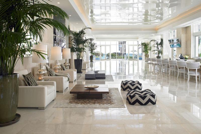 Grand Beach Hotel Surfside lobby-entrance-1