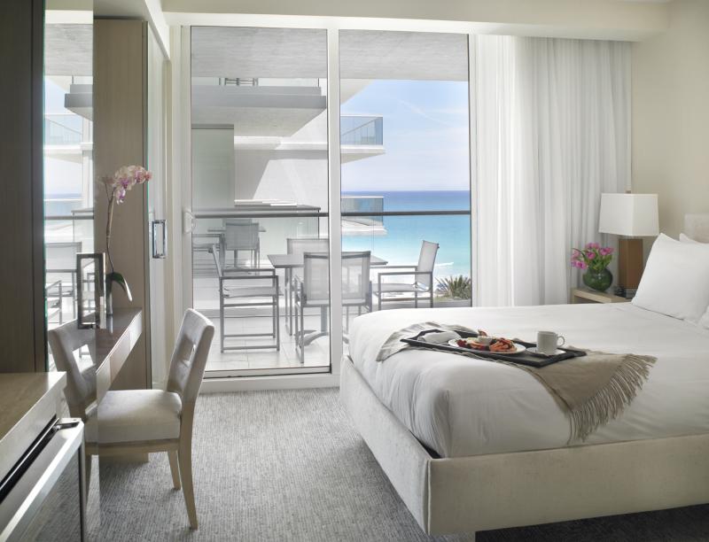 Grand Beach Hotel Surfside. Partial Ocean View Suite.