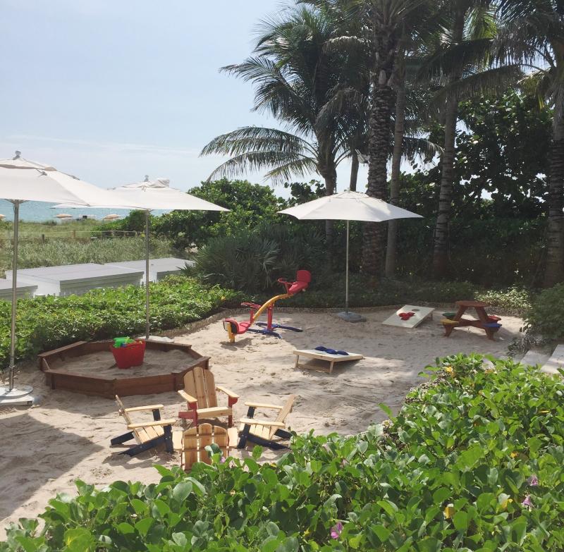 Grand Beach Hotel Surfside Poolside Kids Play Area